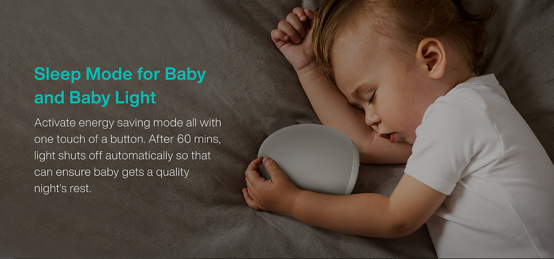 Sleep Mode for Baby and Baby Light