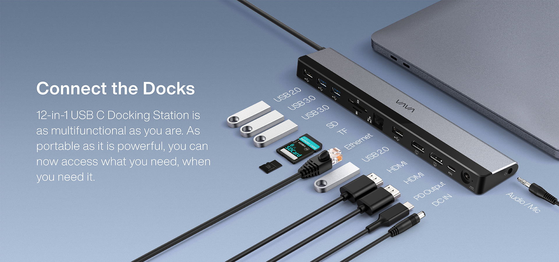 Connect the Docks