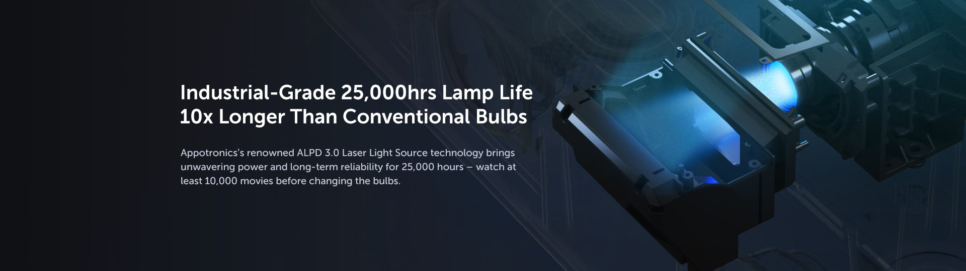 Ultra-Long Lamp Life