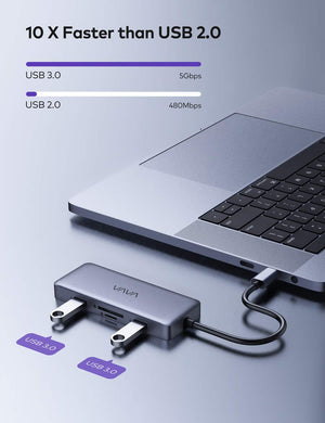 Fast Data Transfer USB C Dock