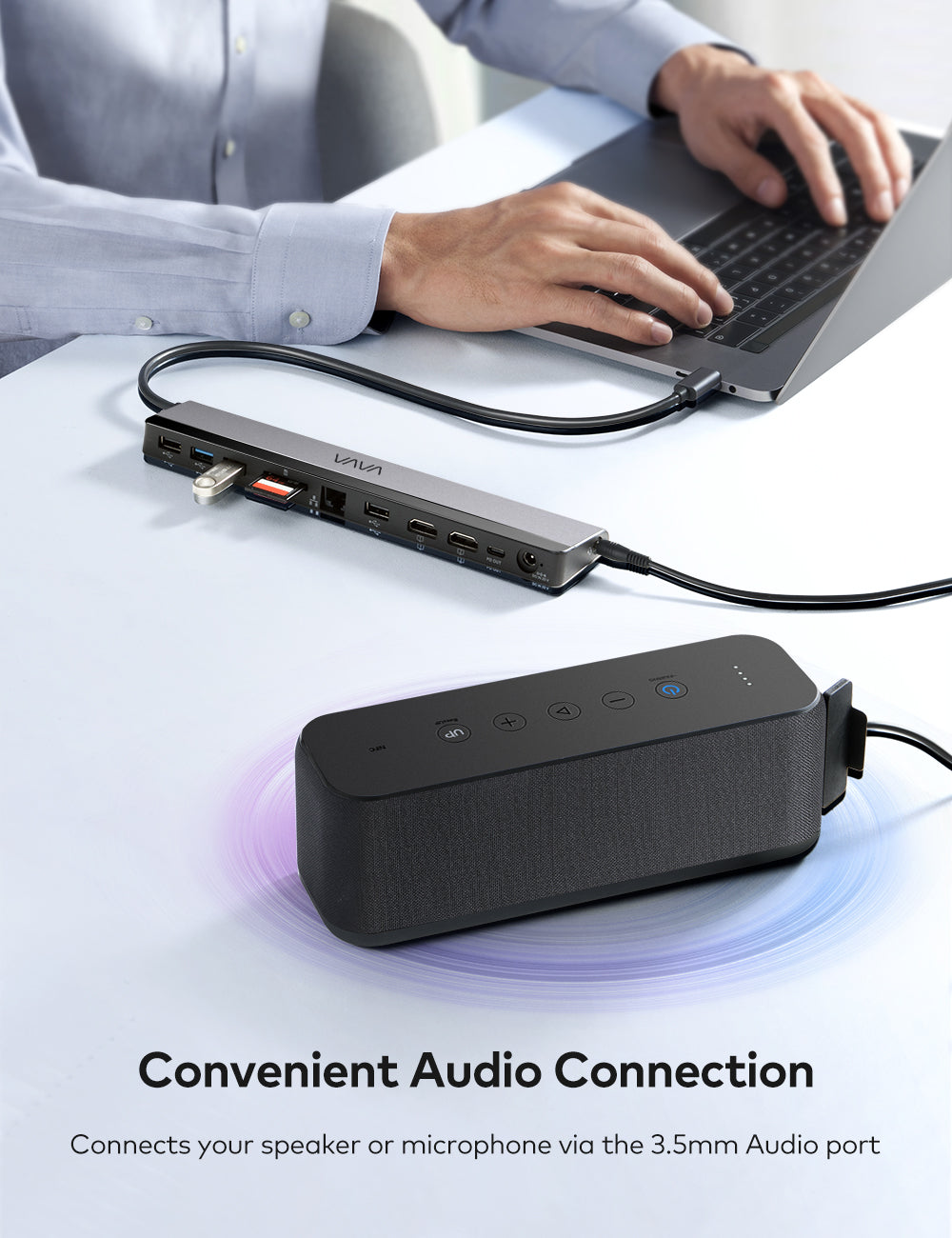 Convenient Audio Connection