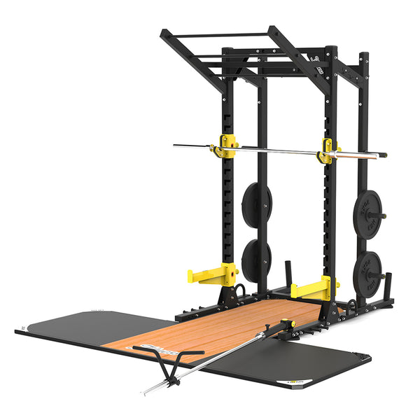 Power Rack with Platform