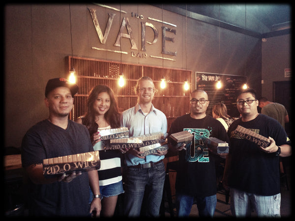 The Vape Bar staff with Vapowire