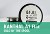Kanthal A1 - Flat (Sold by the Spool)