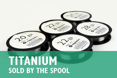 Titanium Grade 1 (Sold by the Spool)