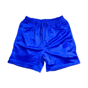 Blue Poly Shorts