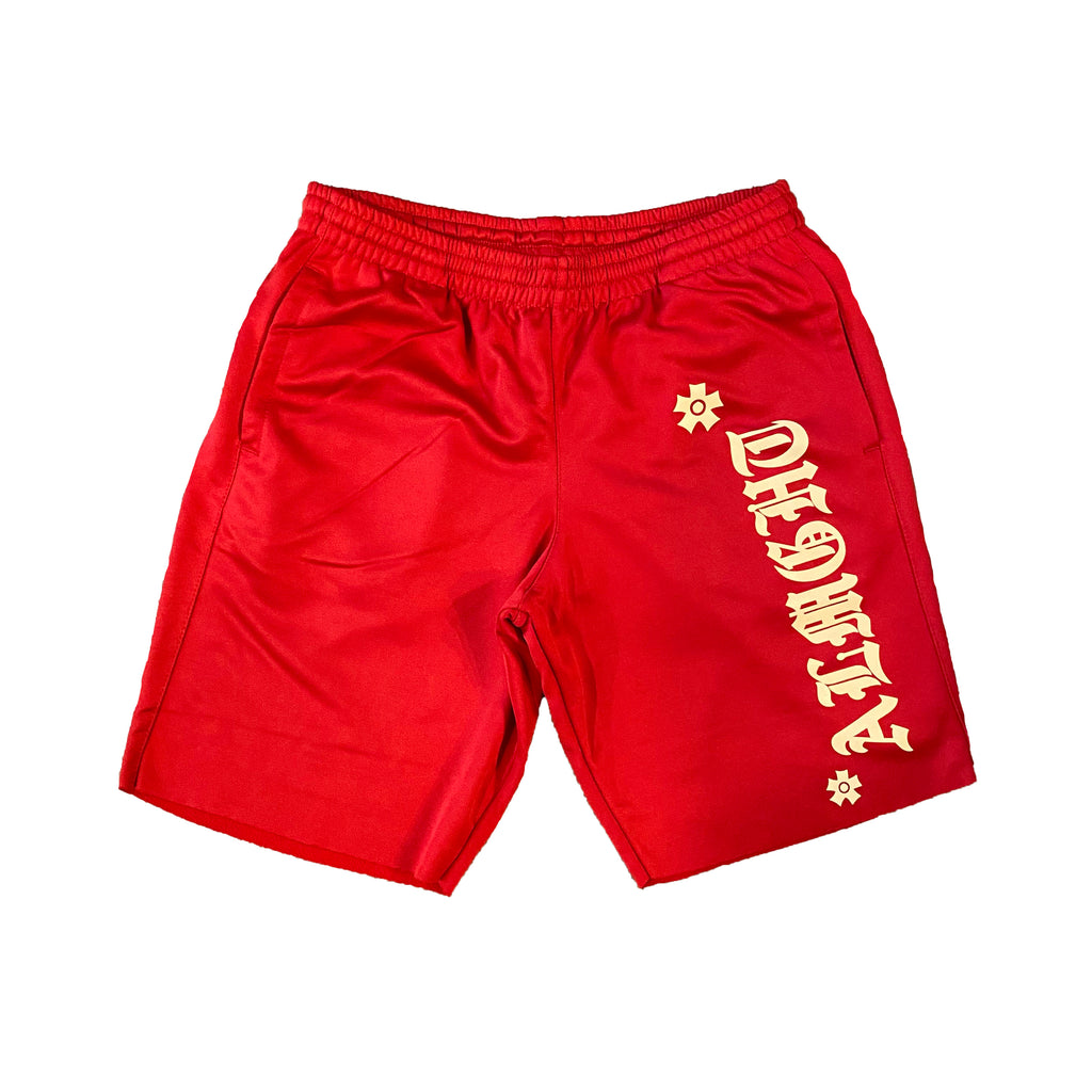 F*CK OFF Shorts (Red)