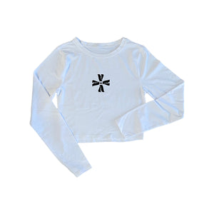 Cropped Logo LS (women's)