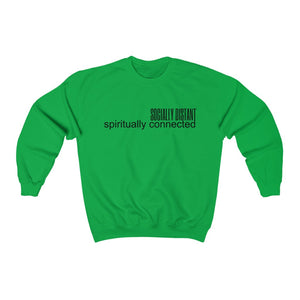 Spiritually Connected Unisex Crew Neck Sweatshirt