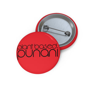 Red Plant Based Punani Button