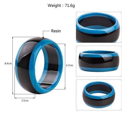 Resin Cuff Bracelets Bangles for Women