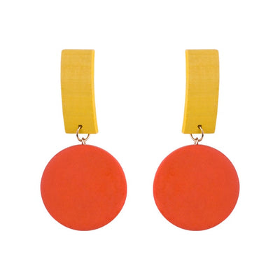 Classic  Colorful Drop Earrings