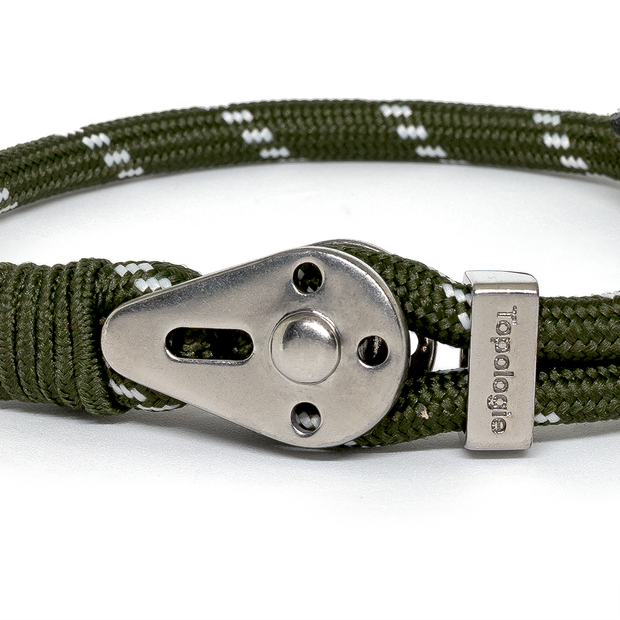 Yosemite / Green Patterned / Silver - Yosemite - Inspired by Rock-climbing - Topologie EU