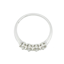 Load image into Gallery viewer, 18K White Gold Diamond Ring