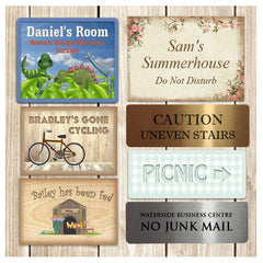 Personalised Signs from www.honeymellow.com