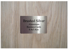 Personalise Mini Blank Signs including Business Card Size