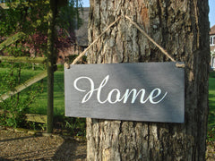 Parisian Rustic Home Sign at Honeymellow