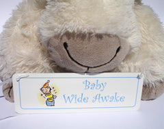 Baby Sleeping Double Sided Sign at Honeymellow