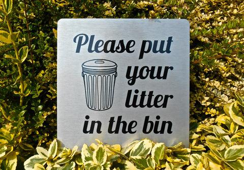 Square Silver, Gold or White Metal Litter Vital Signs