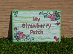 Pick Your Own Strawberries Plus Personalisation, Custom-Made Metal Sign from www.honeymellow.com