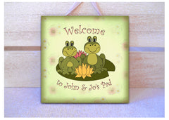 Welcome to my Pad Wood or Metal Personalised Handmade Sign from Honeymellow