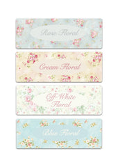 Floral Cottage Chic Add Your Own Text Personalised Sign at Honeymellow