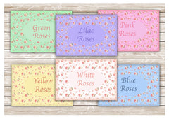 Add your text to blank rustic rainbow roses coloured metal signs at www.honeymellow.com