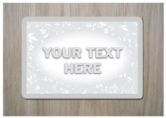 Add Your Own Text to Custom Made Cottage Chic Sign at Honeymellow