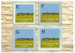 Custom Order Especially for You personalised ceramic tile at Honeymellow