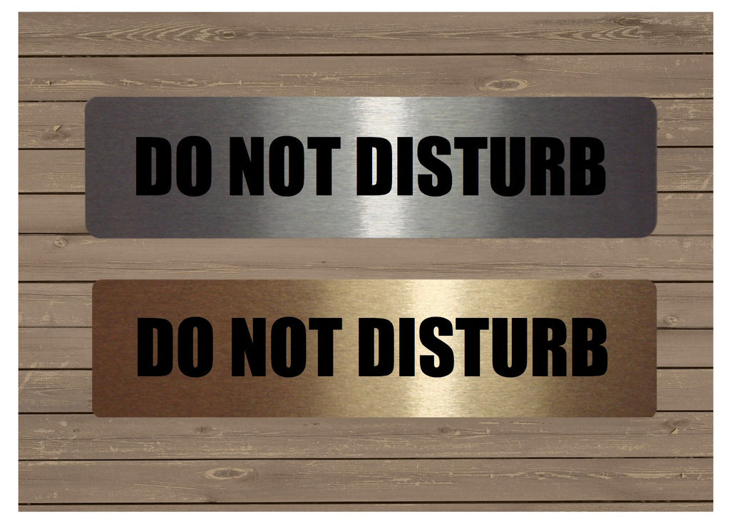 Do Not Disturb Vital Sign for Office Door.  Buy online at Honeymellow