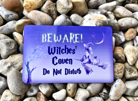 Halloween Trick or Treat Welcome / Do Not Disturb Hanging Wood or Metal Signs