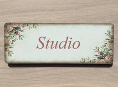 Add Your Own Text to our Rustic Rose Signs in Wood or Metal