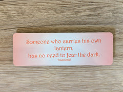 Colourful Motivational Plaques & Bookmarks: Proverbs