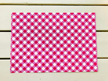 Load image into Gallery viewer, Gingham Paper Placemats (7 colors available)
