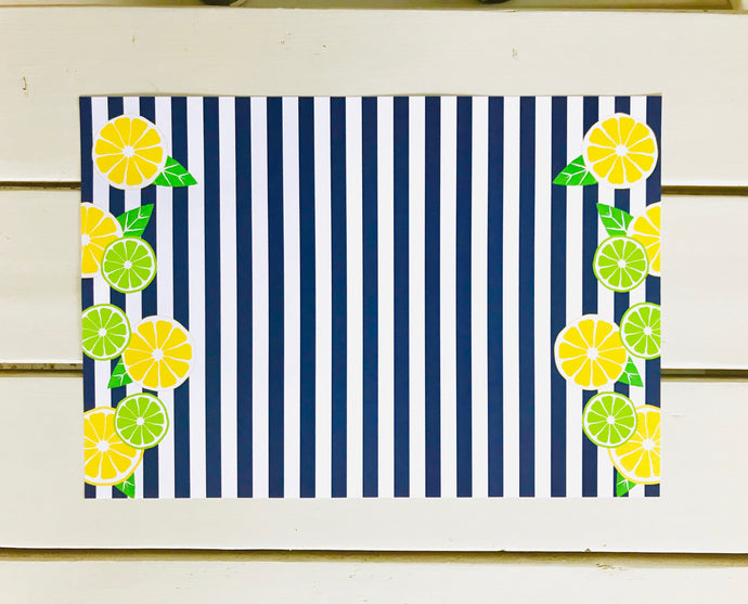 Lemon Lime Love Placemats