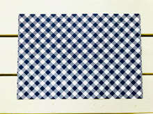 Load image into Gallery viewer, Patriotic Gingham Placemats (2 colors available)