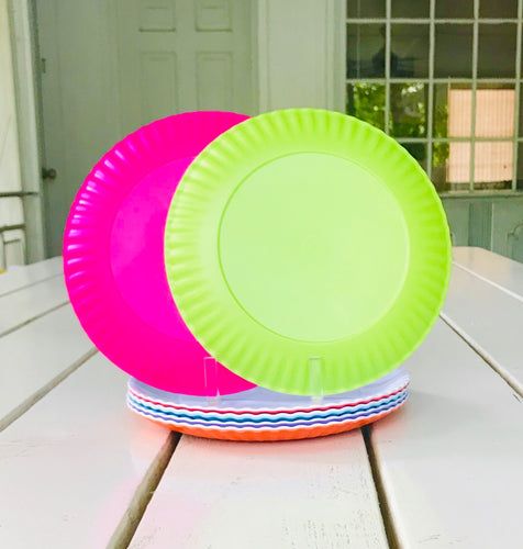 Colorful Melamine Plates