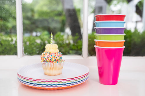 Colorful Melamine Cups