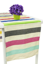 Load image into Gallery viewer, Striped Woven Runner (2 colors available)