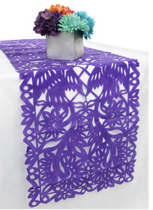 Papel Picado Reusable Cloth Handcut Table Runner