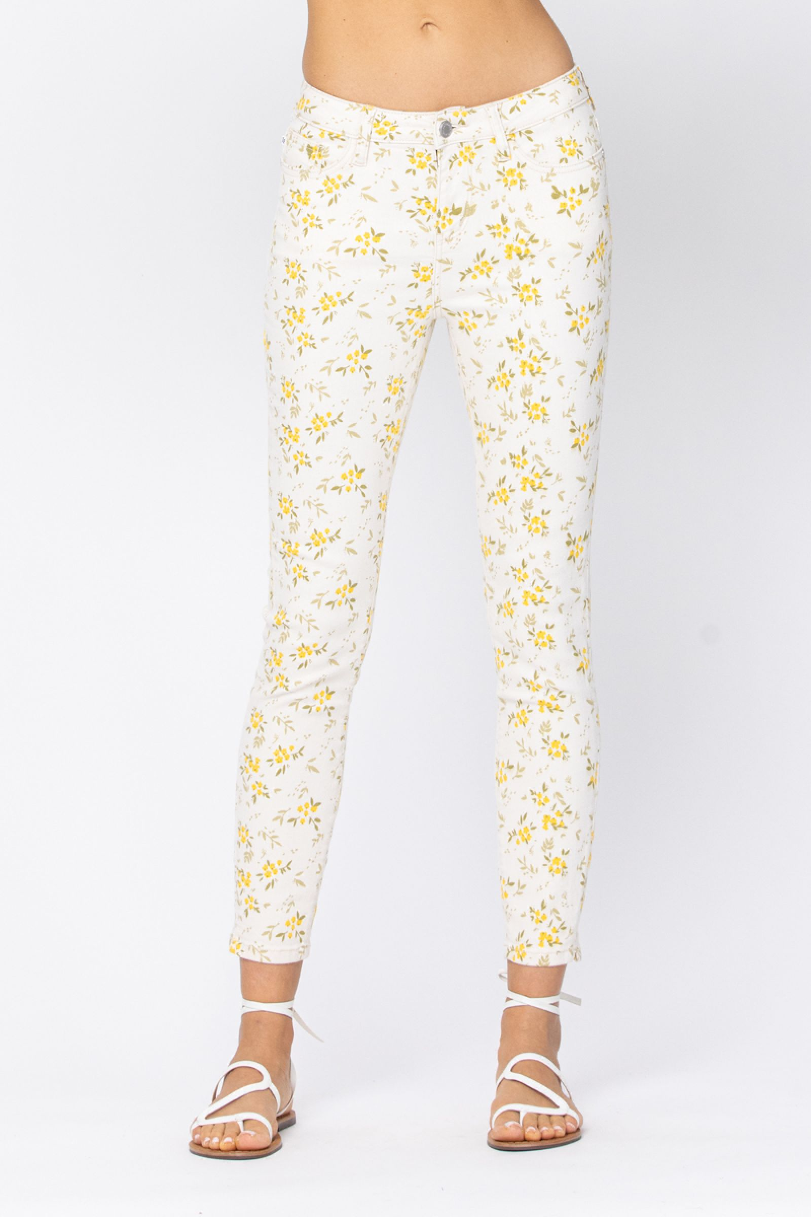 Flower Child Skinny Jeans (Preorder ETA 03/22)