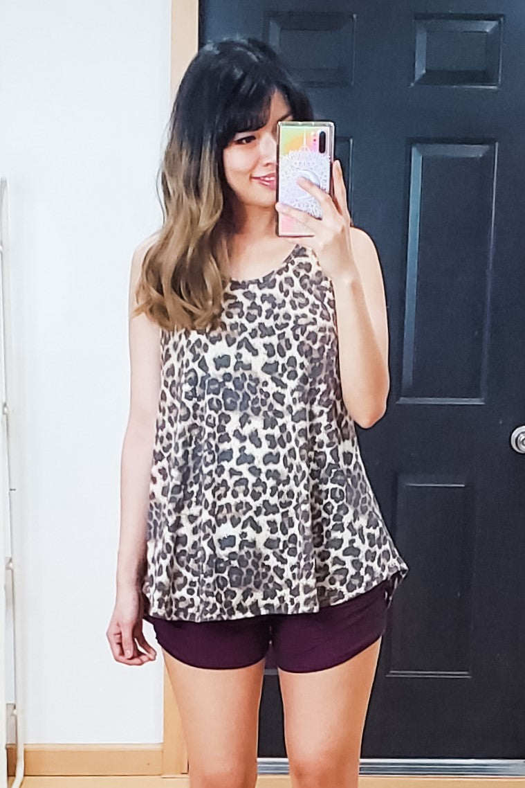 Leopard Super Soft Easy Tank