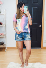 Load image into Gallery viewer, Tie Dye Easy Tee - Lavender Latte Boutique