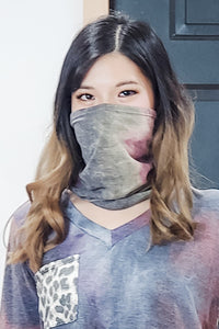 Multi-way Scarf + Mask + Headband