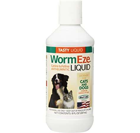 Wormeze Liquid Wormer 8 oz