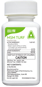 MSM Turf 2 oz Kills Bahaigrass