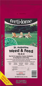 Fertilome St. Augustine Weed & Feed 32 lbs