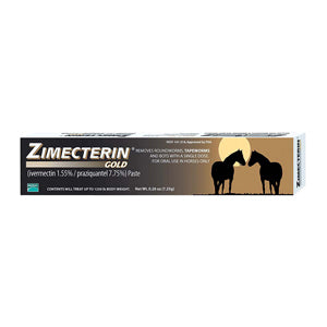 Zimecterin Gold De Wormer Paste