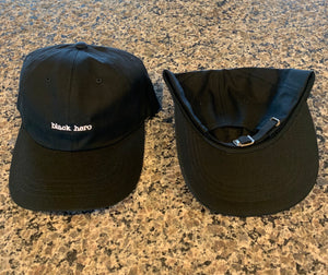 "Simply Black ""black hero"" Dad Hat"