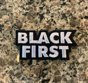 Black First Patch